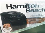 HAMILTON BEACH Miscellaneous Appliances BREAD MAKER 29882